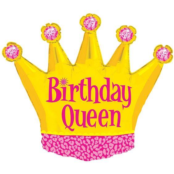 Betallic 36 Quot Inch Birthday Queen Crown Balloon From